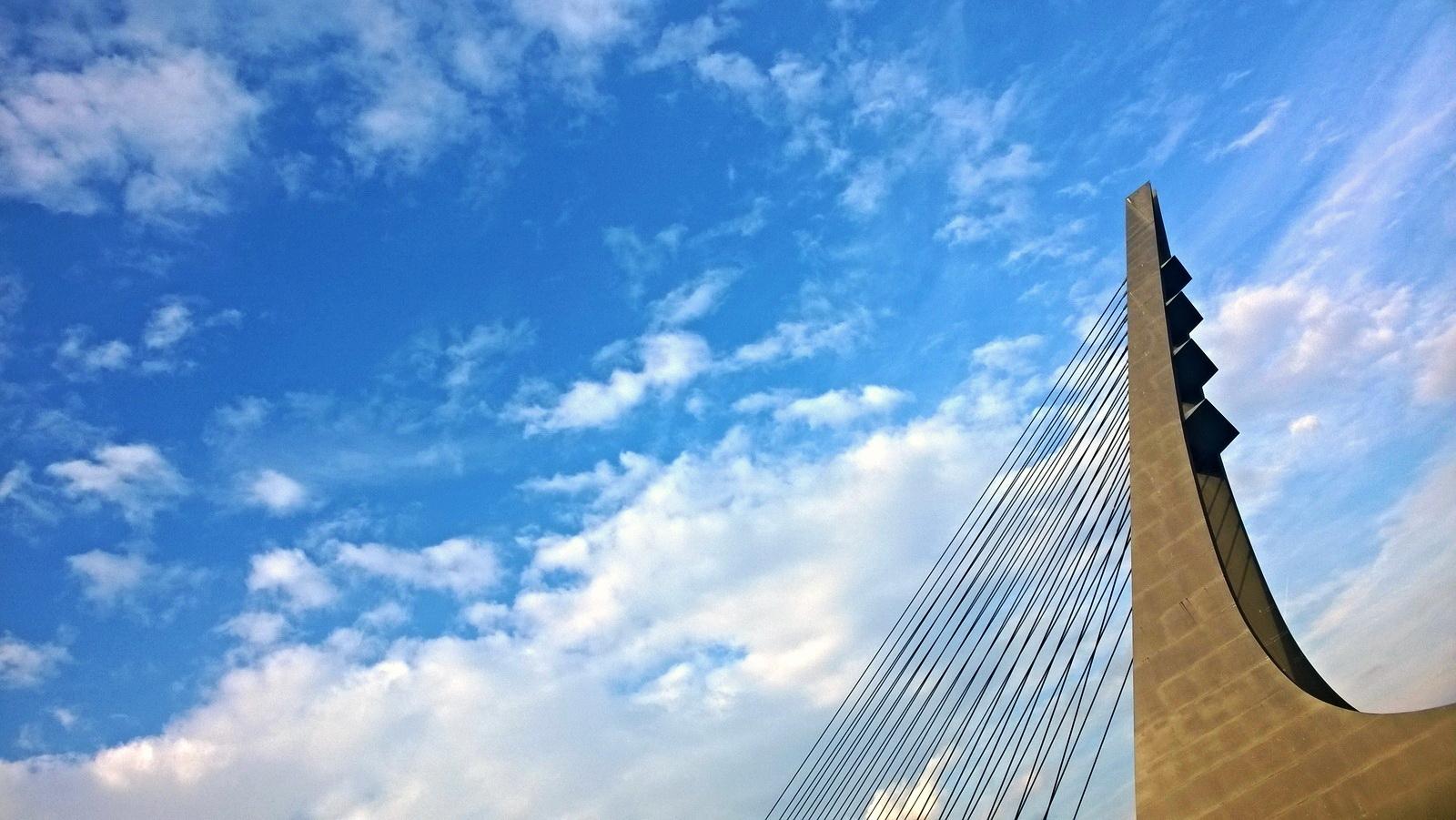 Harp bridge, CZ
